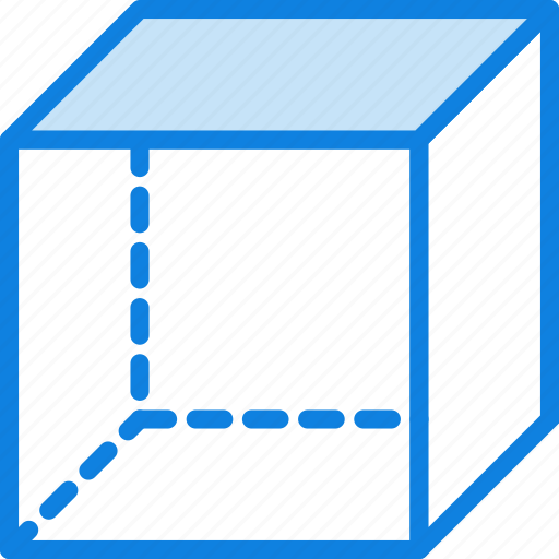 cube, design, graphic, tool icon