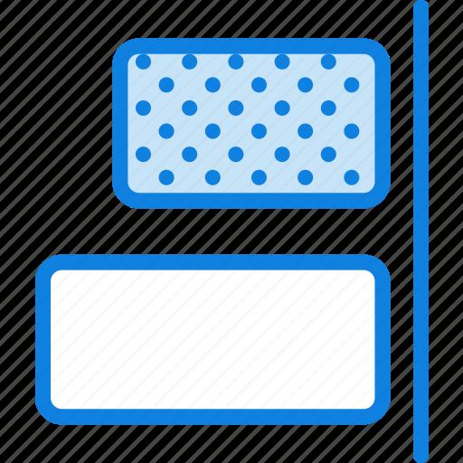 align, design, graphic, horizontal, right, tool icon
