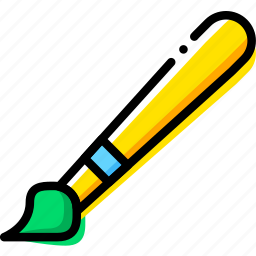 brush, design, graphic, tool icon