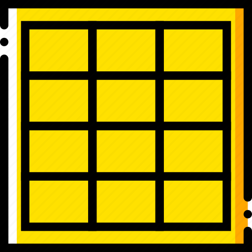all, design, graphic, grid, in, tie, tool icon