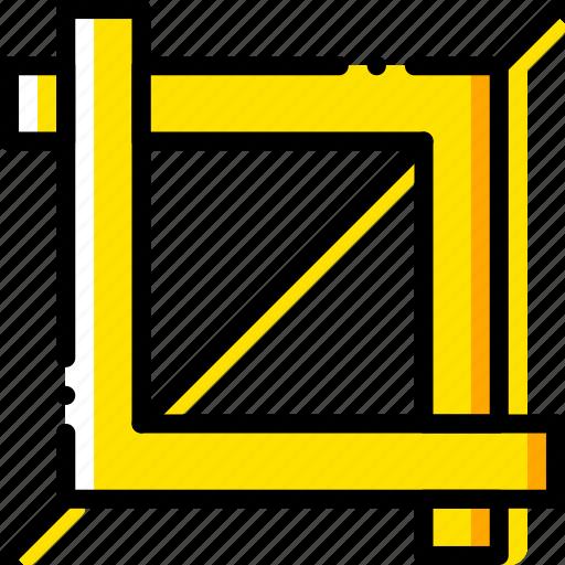 crop, design, graphic, tool icon
