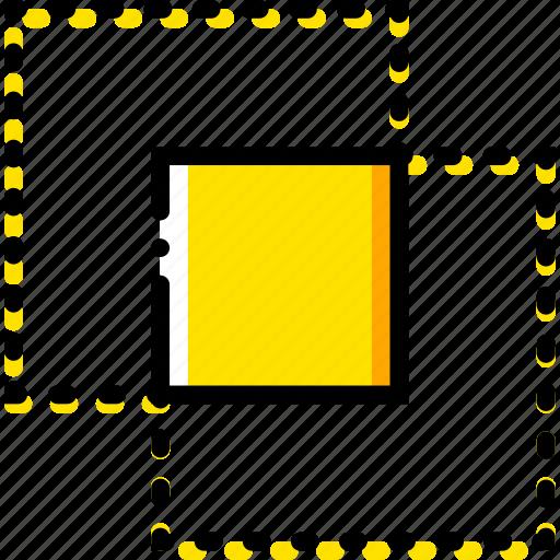design, graphic, intersect, tool icon