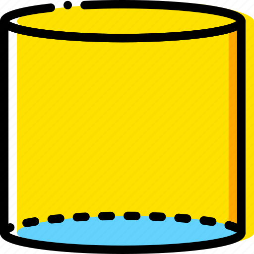 cylinder, design, graphic, tool icon