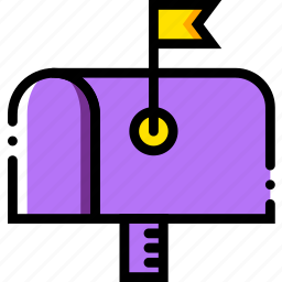 communication, dialogue, discussion, mailbox icon