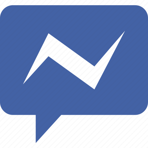 communication, dialogue, discussion, facebook, messenger icon