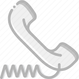 communication, dialogue, discussion, phone, wired icon