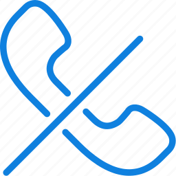 communication, dialogue, discussion, end, phonecall icon