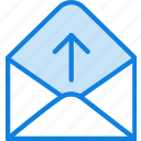 communication, dialogue, discussion, from, get, mail icon