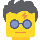 emoticon, harry, potter, emoji, face