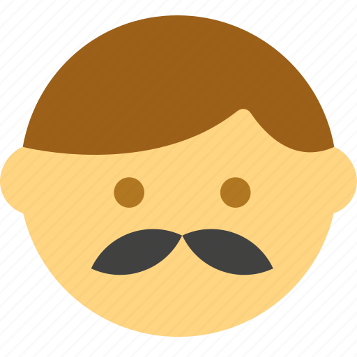 emoji, emoticon, face, hipster icon