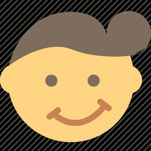 emoji, emoticon, face, trendy icon
