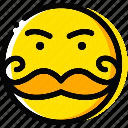 emoji, emoticon, face, rich icon