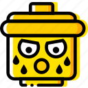 emoji, emoticon, face, sportsman