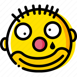 clown, emoji, emoticon, face icon
