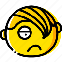 emo, emoji, emoticon, face icon