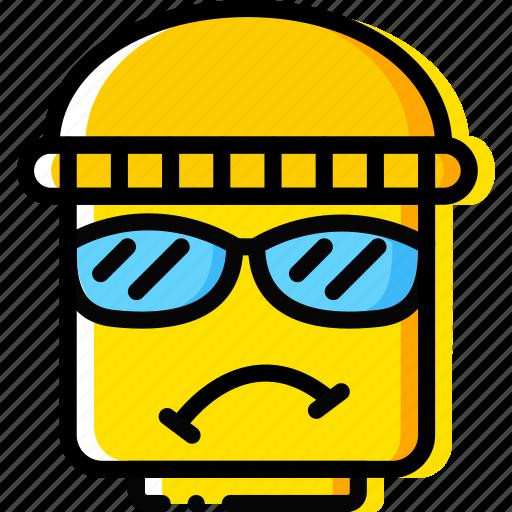 burglar, emoji, emoticon, face icon