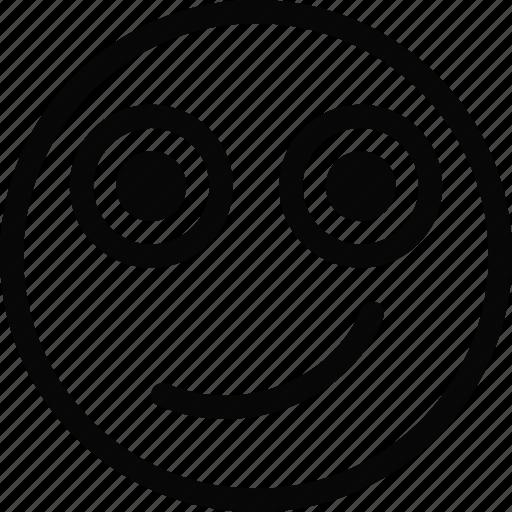 emoji, emoticon, face, smiling icon