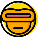 cyclops, emoji, emoticon, face icon