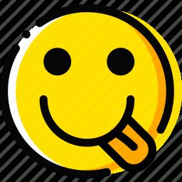 emoji, emoticon, face, wiffler icon