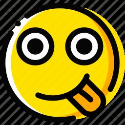 emoji, emoticon, face, oddball icon
