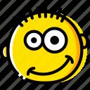 emoji, emoticon, face, happy