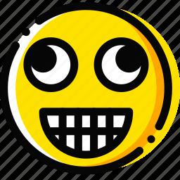 dumb, emoji, emoticon, face icon