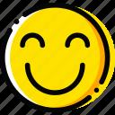 emoticon, emoji, true, happiness, face