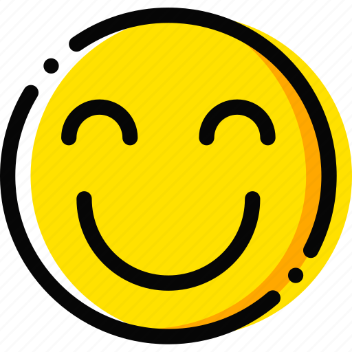 emoji, emoticon, face, happiness, true icon
