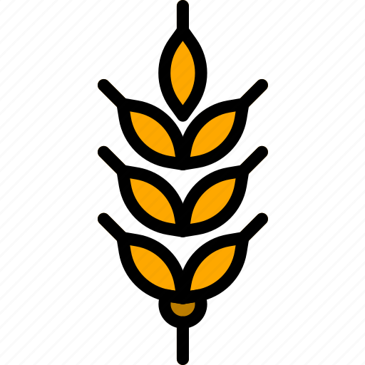 agriculture, farming, garden, grains, nature icon