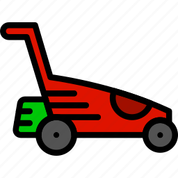 agriculture, farming, garden, landmower, nature icon