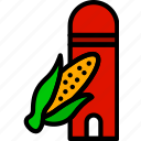 agriculture, corn, farming, garden, nature, sylo icon