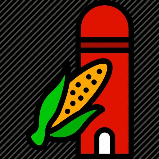 agriculture, corn, farming, garden, nature, sylo icon