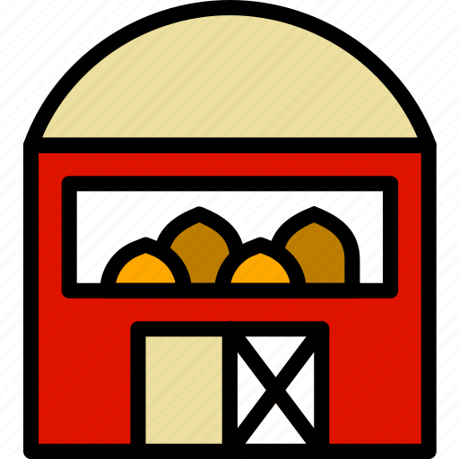 agriculture, barn, farming, garden, nature icon