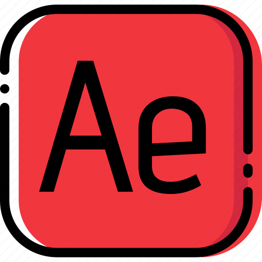 adobe, after, effects, extentions, file, types icon