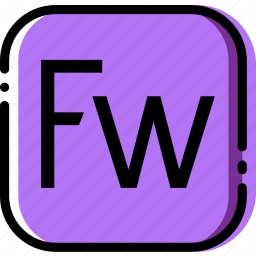 adobe, extentions, file, firework, types icon