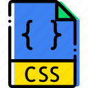 css, extentions, file, types