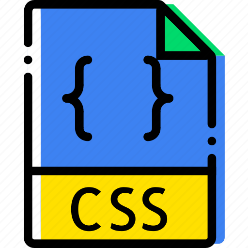 css, extentions, file, types icon