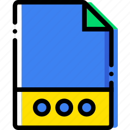 extentions, file, more, types icon