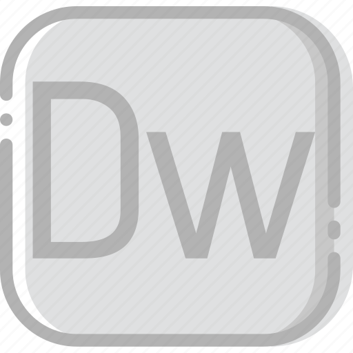 adobe, directory, document, dreamweaver, file icon
