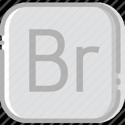 adobe, bridge, directory, document, file icon