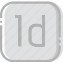 adobe, directory, document, file, indesign icon