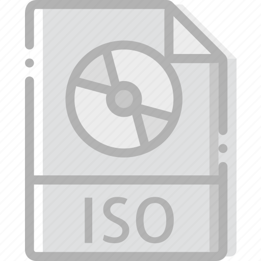 directory, document, file, iso icon