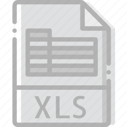 directory, document, file, xls icon