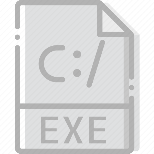 directory, document, exe, file icon