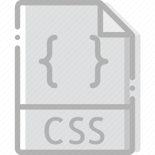 css, directory, document, file icon