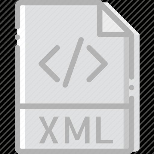 directory, document, file, xml icon