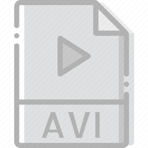 avi, directory, document, file icon