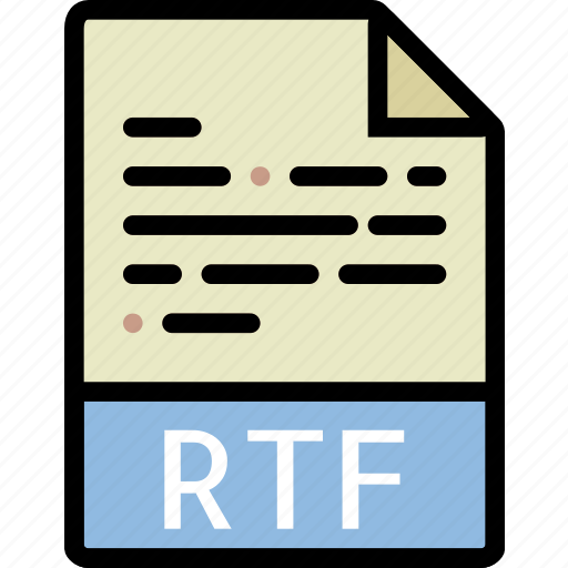 directory, document, file, rtf icon