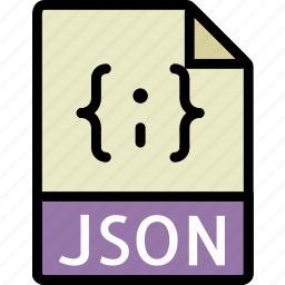 directory, document, file, json icon