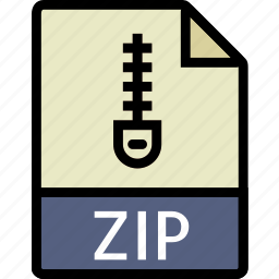 directory, document, file, zip icon